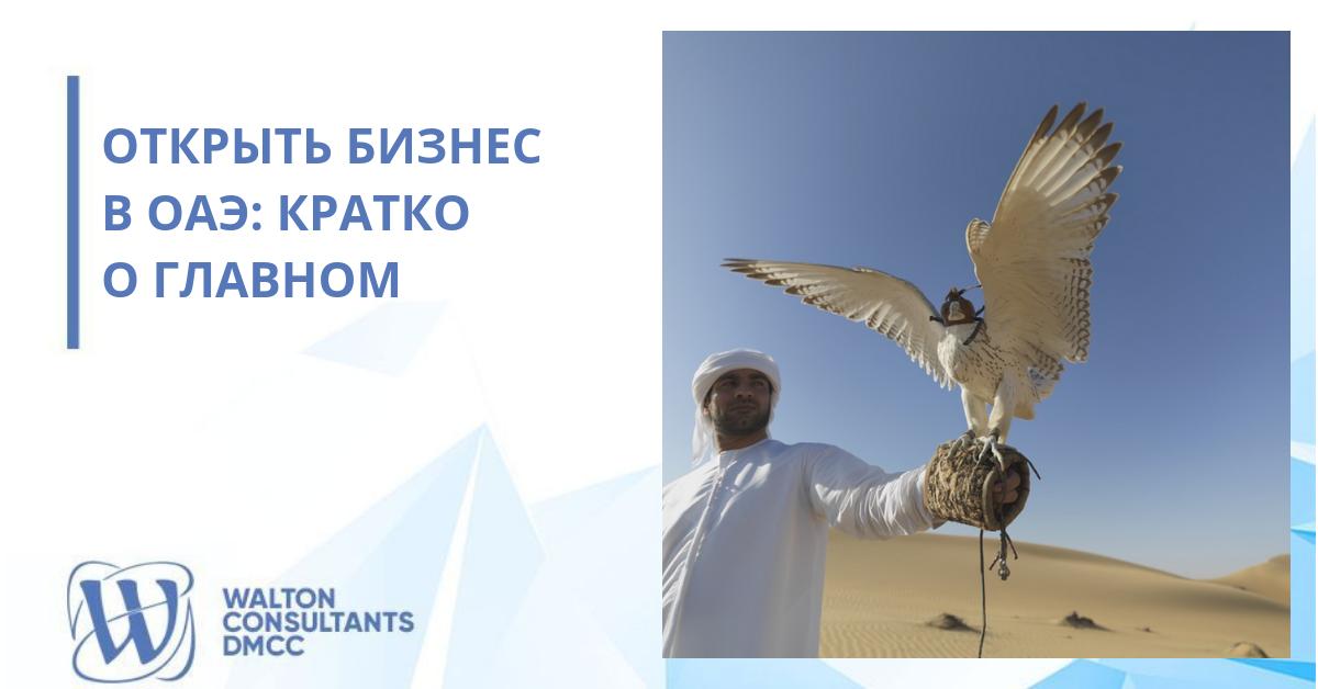Открыть бизнес в ОАЭ: кратко о главном
